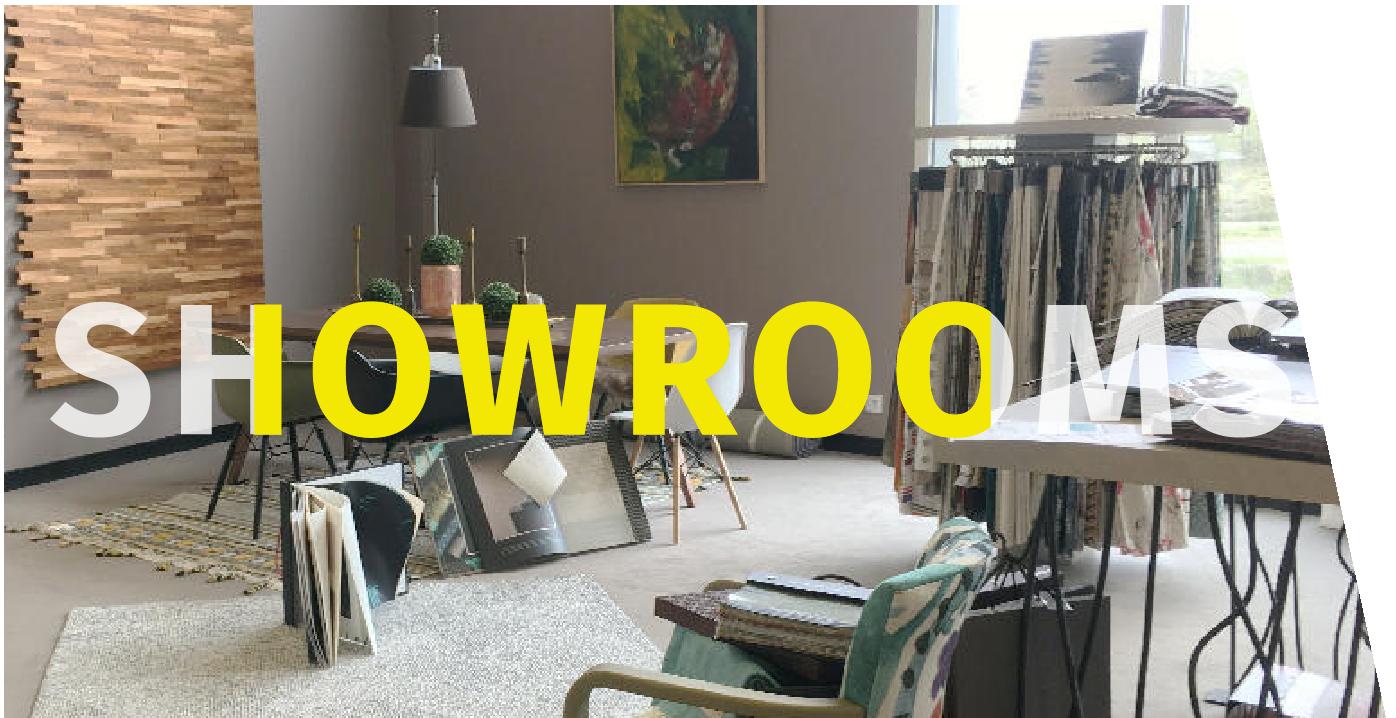 Les showrooms : découvrez nos produits