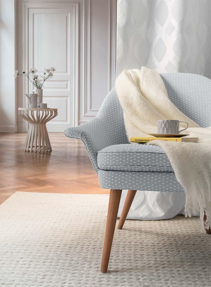 Idée déco fauteuil tapis