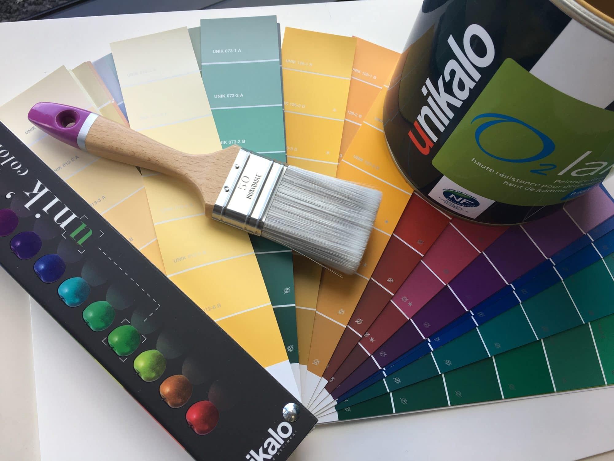 Nuancier pour peinture