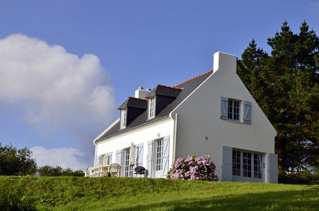 maison belle façade peinture extérieure